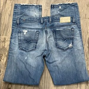 Diesel made in Italy viker-r-box jeans 33 x 32